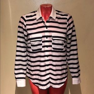 Anthropologie - Coincidence & Chance stripe shirt